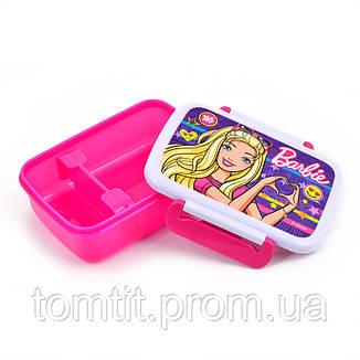 "Ланч бокс для еды ""Barbie - Барби"" с разделителем, ТМ YES , фото 2"