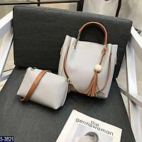 Комплект S-3821 () — купить Сумки оптом и в розницу в одессе 7км