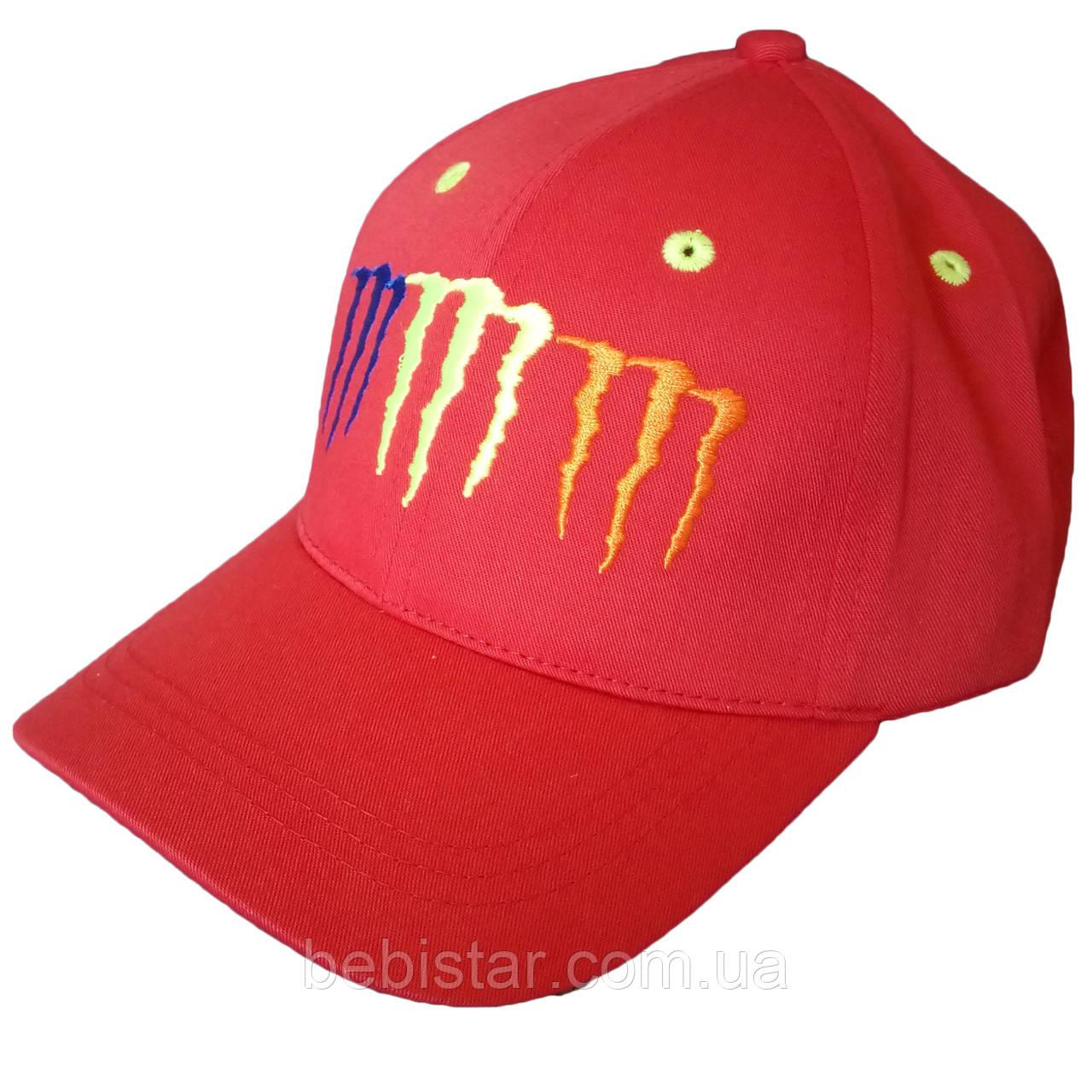 Кепка бейсболка красная для мальчика