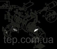 Запчасти для жидкотопливных горелок Ecoflam серии Maior P 80 AB