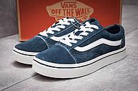 Кроссовки женские  Vans Old Skool, темно-синие (12932) размеры в наличии ► [  37 38  ] (реплика), фото 1