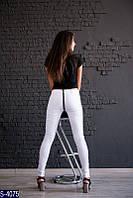 Брюки S-4075 (42, 44, 46, 48) — купить Штаны оптом и в розницу в одессе 7км