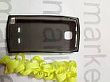 Чохол для Nokia 5250 (чорний силікон), фото 2