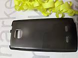 Чохол для Nokia 5250 (чорний силікон), фото 3