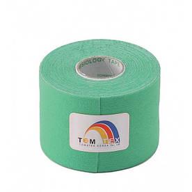 Кинезио тейп TemTex 5смх 5м (Зеленый)