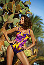 Женский слитный купальник, размеры от 46 до 56, в расцветках, Мarko, фото 3