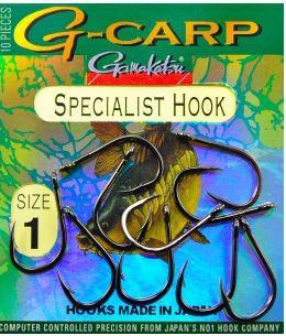 Крючок Gamakatsu G-Carp Specialist