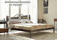 Кровать металлическая Адель полуторная
