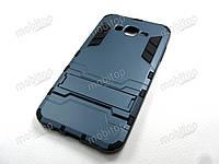 Противоударный чехол Samsung J700H Galaxy J7 (темно-синий), фото 1