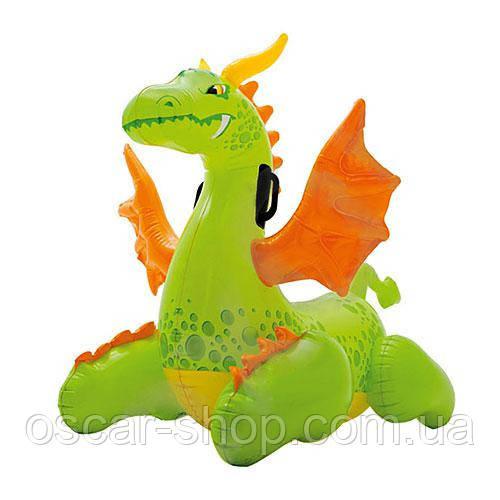 """Надувная детская игрушка """"Средневековый дракончик"""" / Надувной плотик детский / Надувная игрушка для бассейна"""
