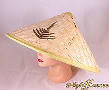 Вьетнамская шляпа, бамбуковая, бамбукова шапка