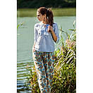 Летняя блуза из натуральной ткани 91ИН, фото 2