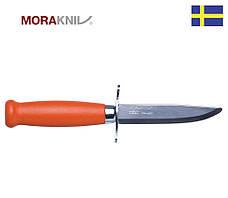 Нож Morakniv Scout 39 Safe, оранжевая рукоять