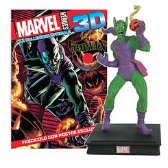 Миниатюрная фигура Герои Marvel 3D №07 Зелёный гоблин (Centauria) масштаб 1:16