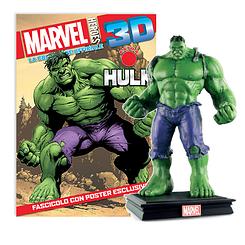 Мініатюрна фігура Герої Marvel 3D Спецвипуск №1 Неймовірний халк (Centauria) масштаб 1:16