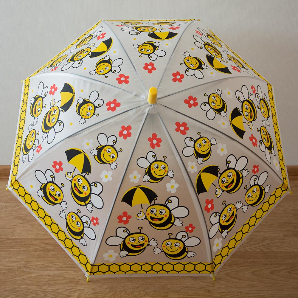 """Детский зонт 1756 """"Пчелы в цветах"""""""