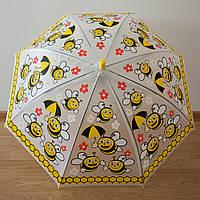 """Детский зонт 1756 """"Пчелы в цветах"""", фото 1"""