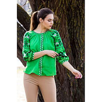 Летняя блуза из натуральной ткани 910ИН, фото 1