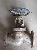 Клапан запорный сальниковый 15с65нж  ДУ125