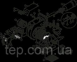 Запчасти для жидкотопливных горелок Ecoflam серии Maior P 120 AB