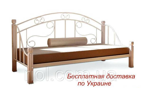 Диван-кровать металлический кованный Орфей