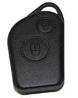 Корпус пульта для Citroen 2 кнопки