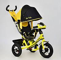 Детский велосипед трехколесный с ручкой Best Trike