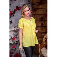 Летняя блуза из натуральной ткани 639-1ИН, фото 1