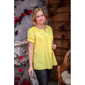 Летняя блуза из натуральной ткани 639-1ИН