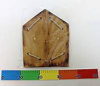 Деревянный щит 35  25см