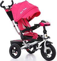 Детский трехколесный велосипед  Best Trike 6088,  поворотное сиденье. Розовый.