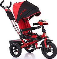 Детский трехколесный велосипед  Best Trike 6088, поворотное сиденье. Красный.
