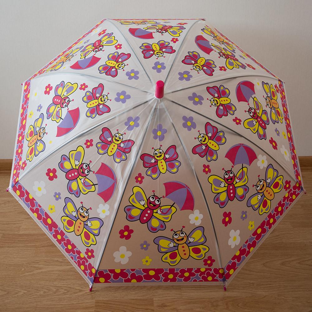 """Детский зонт 1756 """"Бабочки"""""""
