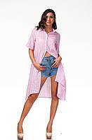 Женская удлиненная рубашка-платье . П097, фото 1