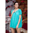 Блуза большие размеры натуральная ткань 639-1ИН, фото 3