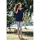 Блуза большие размеры натуральная ткань 639-1ИН, фото 4