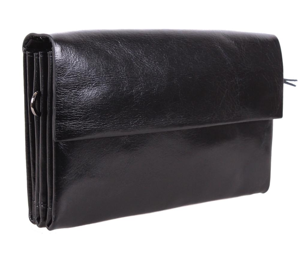 Мужской кожаный клатч BLACK004-2 Черный