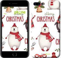"""Чехол на iPhone 7 Plus Merry Christmas """"4106c-337-571"""""""