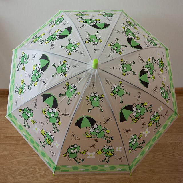 Красивый детский зонт