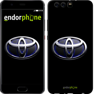 """Чехол на Huawei P10 Plus Toyota. Logo v2 """"3139u-963-571"""""""