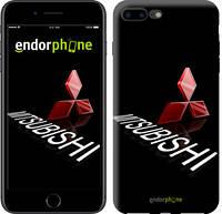 "Чехол на iPhone 7 Plus Mitsubishi. Logo v3 ""3128c-337-571"""