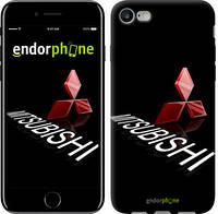 """Чехол на iPhone 7 Mitsubishi. Logo v3 """"3128c-336-571"""""""