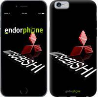 """Чехол на iPhone 6 Mitsubishi. Logo v3 """"3128c-45-571"""""""