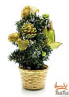 Искуственная новогодняя елка ( 20 см )