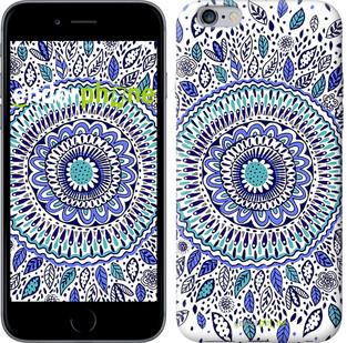 """Чехол на iPhone 6 Plus Узоры и листья """"3080c-48-571"""""""