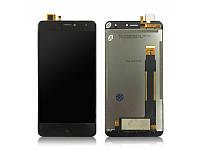 Дисплей (экран) для Doogee X7/X7 Pro + тачскрин, цвет черный