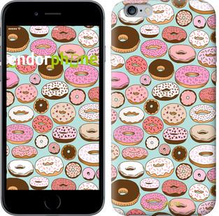 """Чехол на iPhone 6s Plus Пончики в глазури """"2876c-91-571"""""""