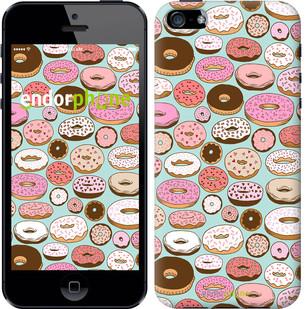 "Чехол на iPhone 5s Пончики в глазури ""2876c-21-571"""