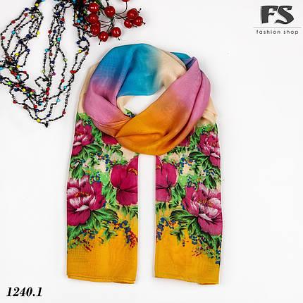 Легкий шарф Rainbow, фото 2