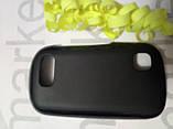 Чохол для Nokia N200/N201 (чорний силікон), фото 2